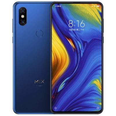 Xiaomi Mi MIX 3 Snapdragon 845 SDM845 2.8GHz 8コア BLUE(ブルー)