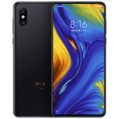 Xiaomi Mi MIX 3 Snapdragon 845 SDM845 2.8GHz 8コア BLACK(ブラック)