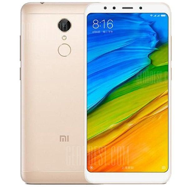 gearbest Xiaomi Redmi 5 Snapdragon 450 1.8GHz 8コア GOLDEN(ゴールデン)