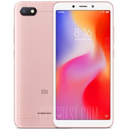 gearbest Xiaomi Redmi Note 6 Pro Snapdragon 636 SDM636 8コア PINK(ピンク)