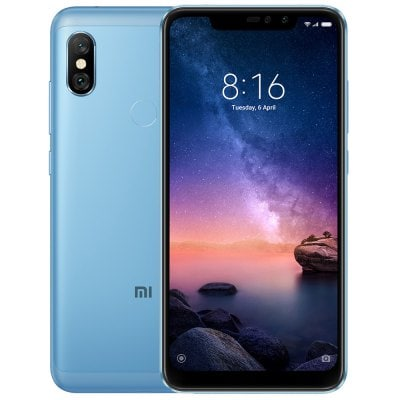 gearbest Xiaomi Redmi Note 6 Pro Snapdragon 636 SDM636 8コア BLUE(ブルー)