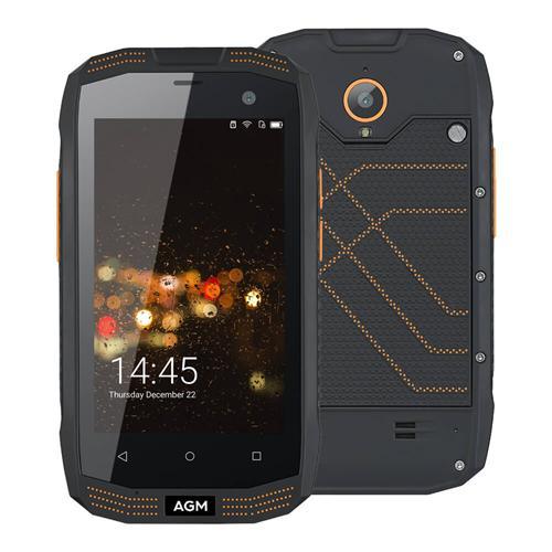 geekbuying AGM A2 Snapdragon 210 MSM8909 1.1GHz 4コア BLACK(ブラック)