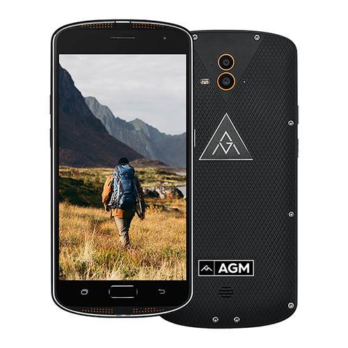geekbuying AGM X1 Snapdragon 617 MSM8952 1.5GHz 8コア BLACK(ブラック)