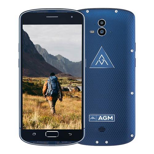 geekbuying AGM X1 Snapdragon 617 MSM8952 1.5GHz 8コア BLUE(ブルー)