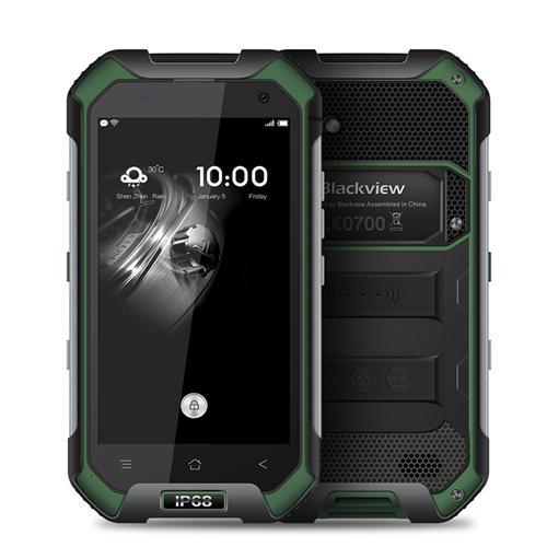 geekbuying Blackview  BV6000 MTK6755 Helio P10 2.0GHz 8コア GREEN(グリーン)
