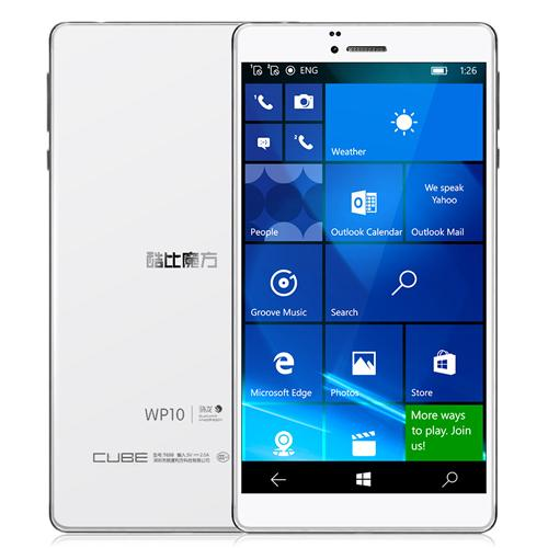 geekbuying Cube WP10 Snapdragon 210 MSM8909 1.1GHz 4コア WHITE(ホワイト)