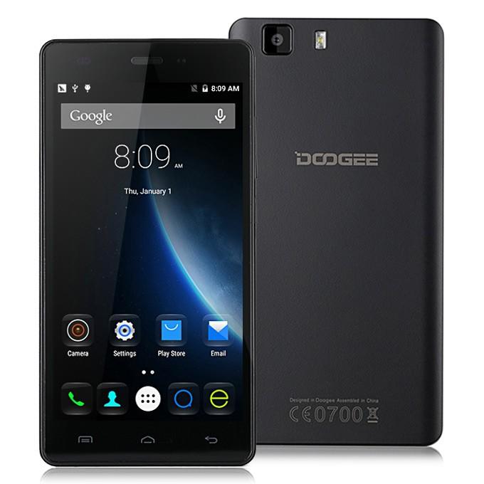 geekbuying DOOGEE X5 Pro MTK6735 1.0GHz 4コア BLACK(ブラック)