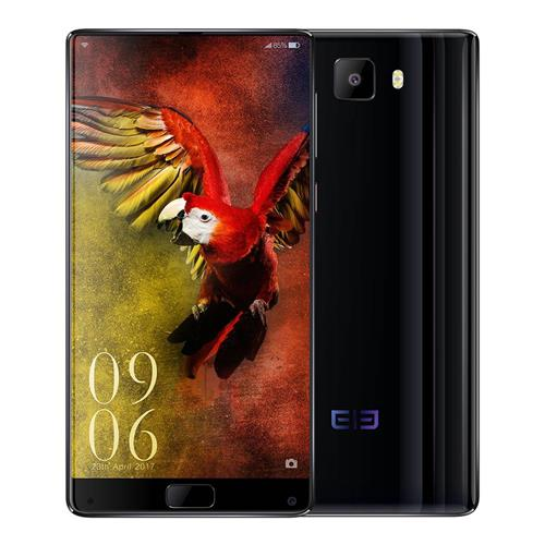 geekbuying Elephone S8 MTK6797 Helio X25 2.5GHz 10コア BLACK(ブラック)
