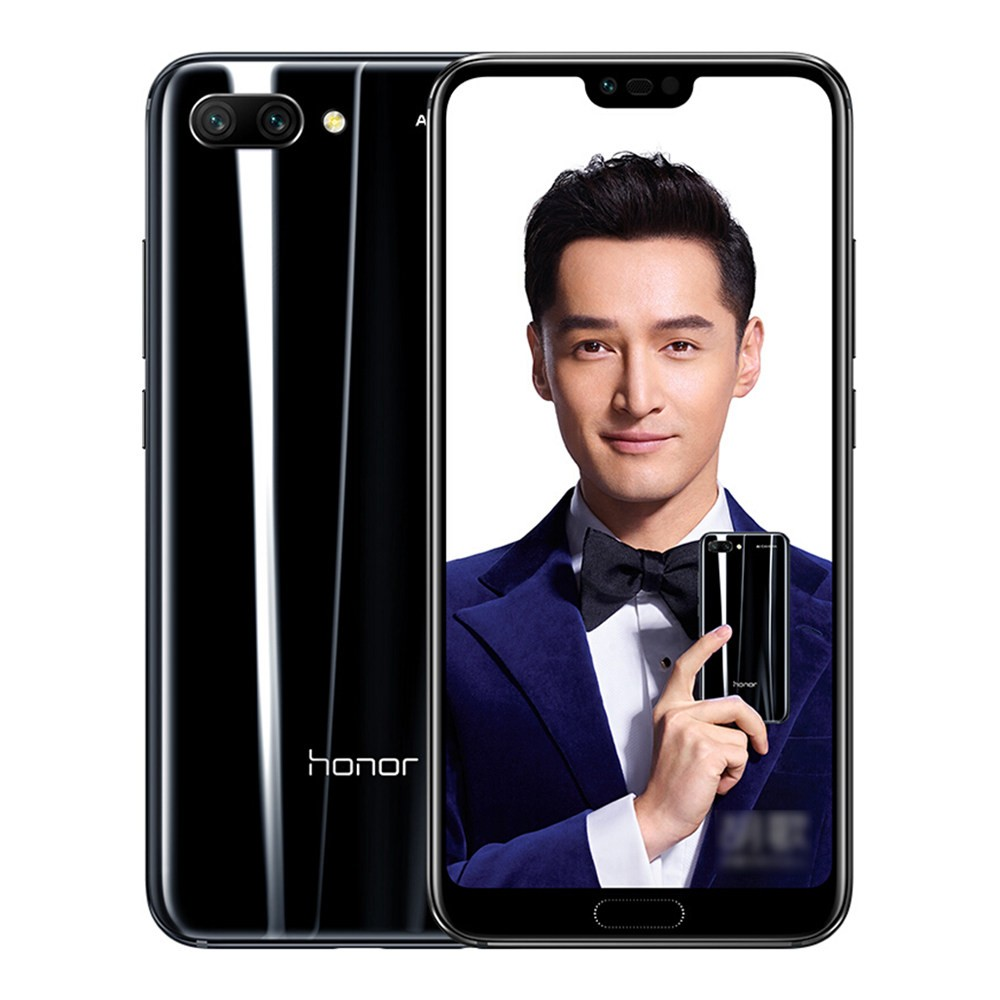 geekbuying Huawei Honor 10 Kirin 970 2.4GHz 8コア BLACK(ブラック)
