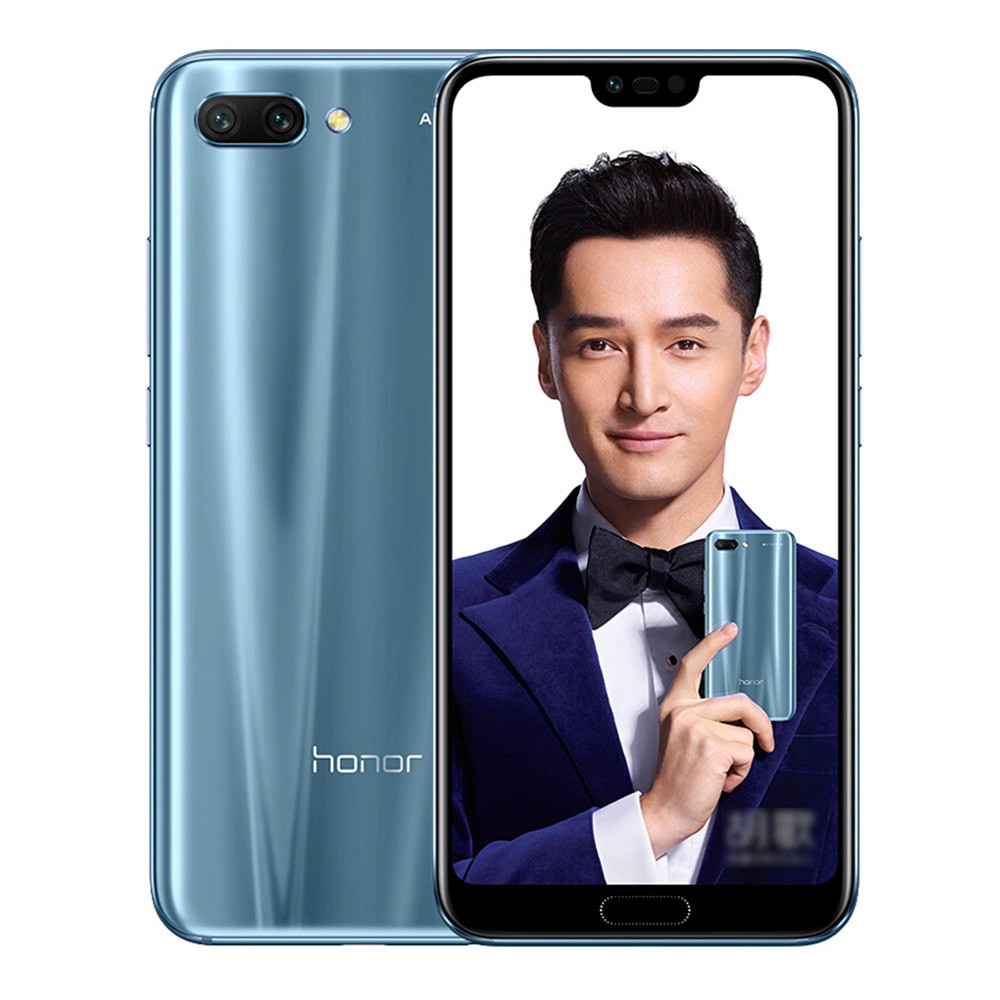 geekbuying Huawei Honor 10 Kirin 970 2.4GHz 8コア GREY(グレイ)