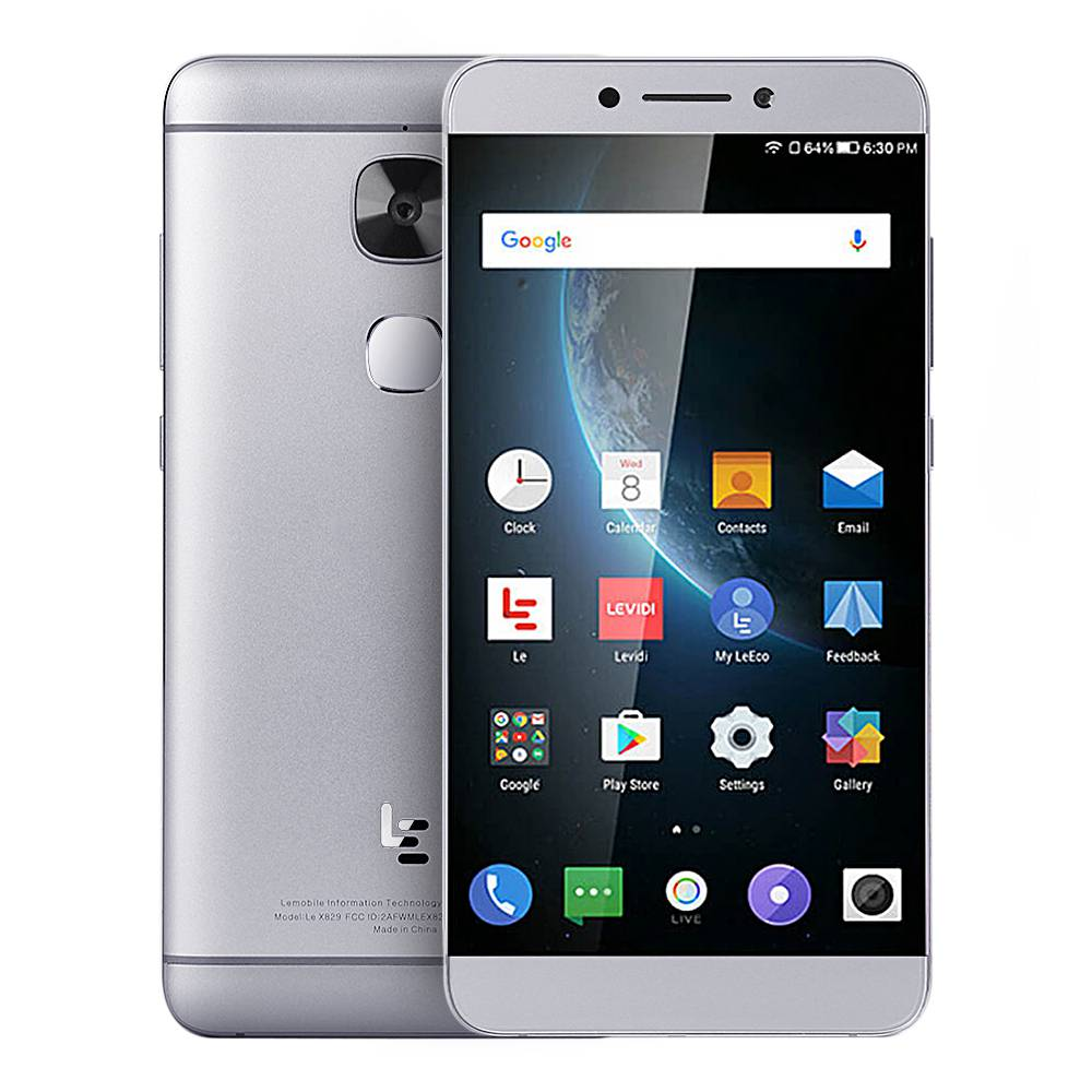 geekbuying LeTV LeEco Le Max 2 X829 Snapdragon 820 MSM8996 2.15GHz 4コア GRAY(グレイ)