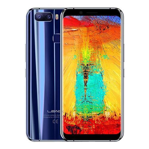 geekbuying LEAGOO S8 Pro MTK6757T Helio P25 2.5GHz 8コア BLUE(ブルー)