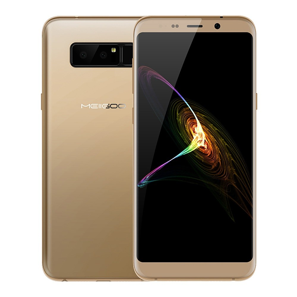 geekbuying MEIIGOO Note 8 MTK6750T 1.5GHz 8コア GOLD(ゴールド)
