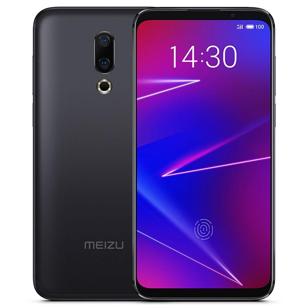 Meizu 16X Snapdragon 710 2.2GHz 8コア BLACK(ブラック)