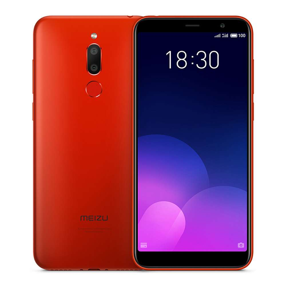 Meizu 6T MTK6750 1.5GHz 8コア RED(レッド)