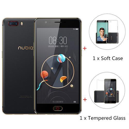 geekbuying ZTE Nubia M2 Snapdragon 625 BLACK(ブラック)パッケージ