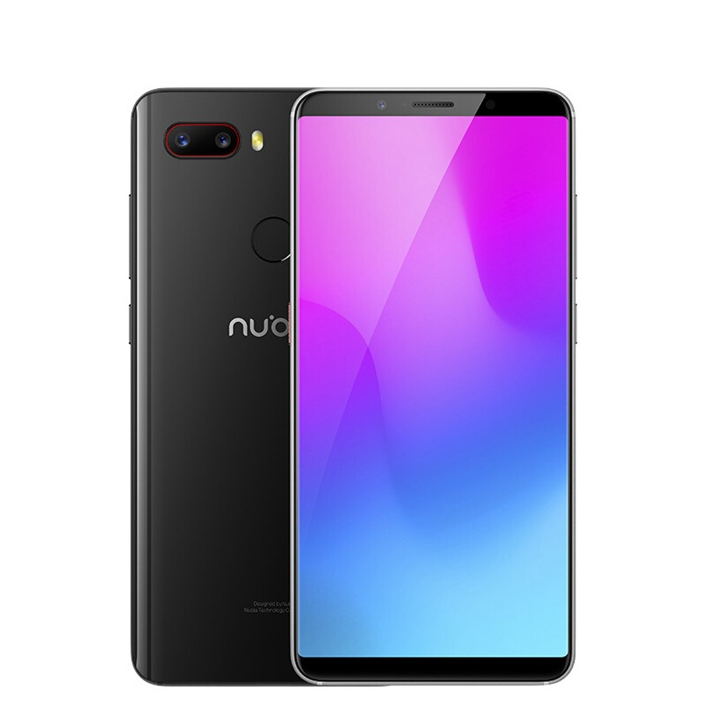 geekbuying ZTE Nubia Z18 Mini Snapdragon 660 MSM8956 Plus 2.2GHz 8コア BLACK(ブラック)