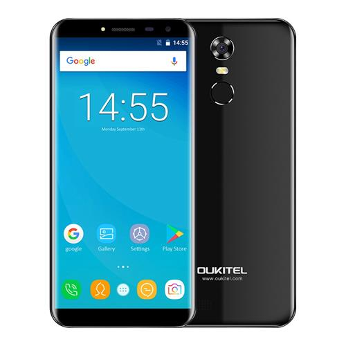 geekbuying OUKITEL C8 MTK6737 1.3GHz 4コア BLACK(ブラック)