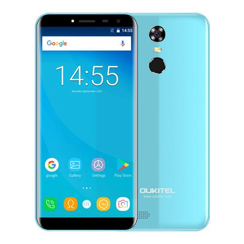 geekbuying OUKITEL C8 MTK6737 1.3GHz 4コア BLUE(ブルー)