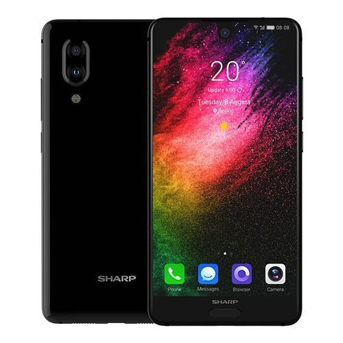 geekbuying SHARP S2 Snapdragon 630 SDM630 2.2GHz 8コア BLACK(ブラック)
