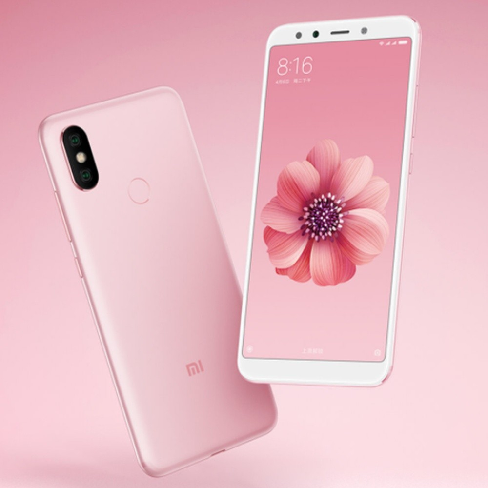 geekbuying Xiaomi Mi 6X Snapdragon 660 MSM8956 Plus 2.2GHz 8コア PINK(ピンク)