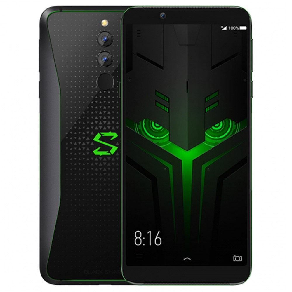 Xiaomi Black Shark 2 Snapdragon 845 SDM845 2.8GHz 8コア BLACK(ブラック)