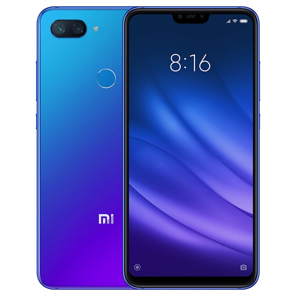 geekbuying Xiaomi Mi8 Lite Snapdragon 660 MSM8956 Plus 2.2GHz 8コア BLUE(ブルー)