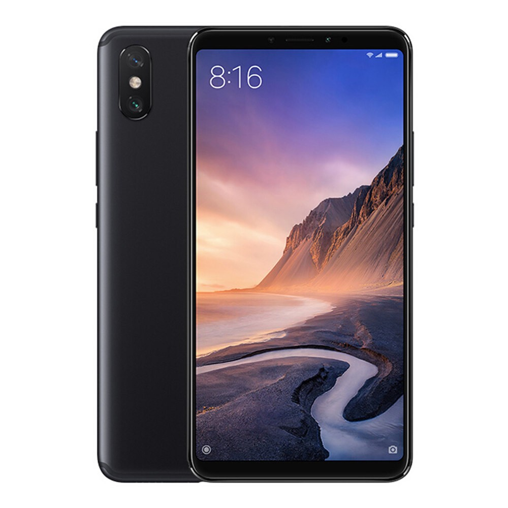 geekbuying Xiaomi Mi Max 3 Snapdragon 636 SDM636 8コア BLACK(ブラック)
