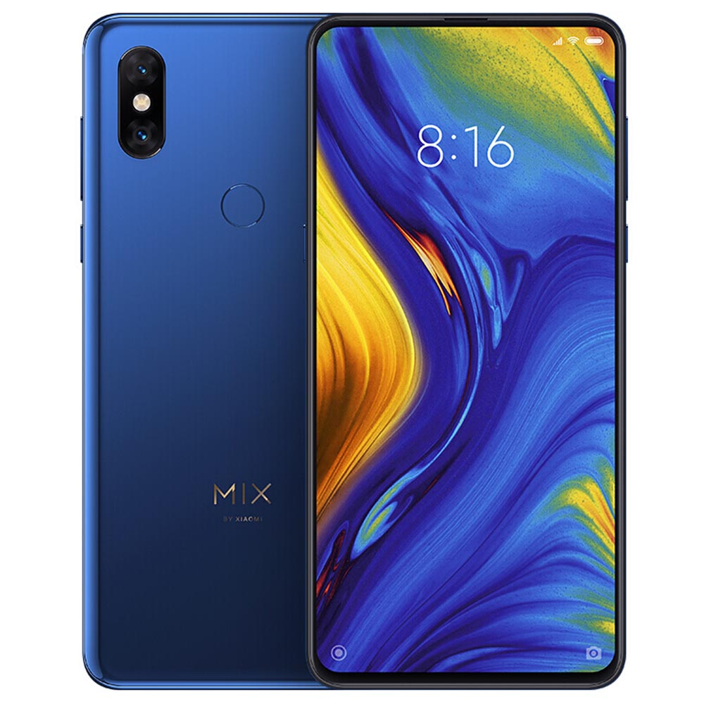 geekbuying Xiaomi Mi MIX 3 Snapdragon 845 SDM845 2.8GHz 8コア BLUE(ブルー)