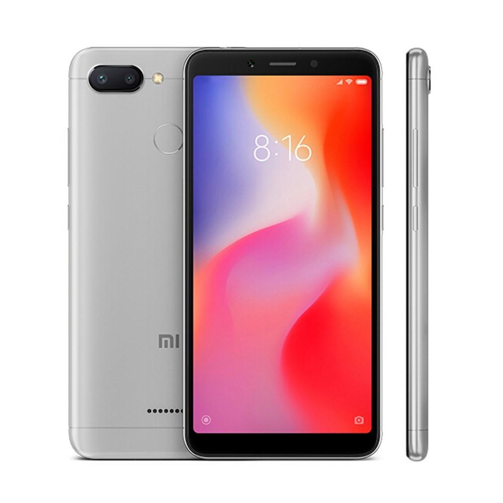 geekbuying Xiaomi Redmi 6 MTK6762 Helio P20 2.0GHz 8コア GREY(グレイ)