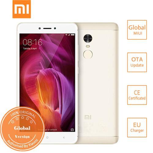 geekbuying Xiaomi Redmi Note 4 MTK6797 Helio X20 2.1GHz 10コア GOLD(ゴールド)
