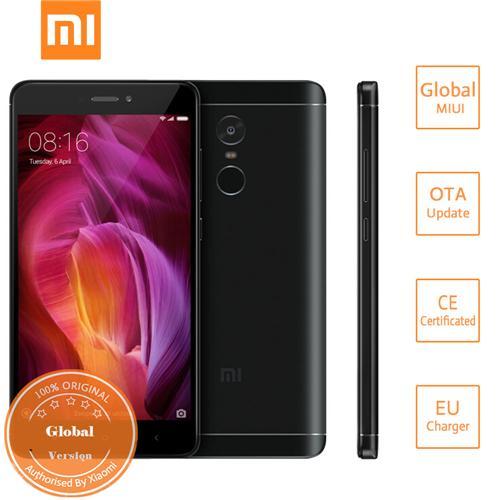 geekbuying Xiaomi Redmi Note 4 MTK6797 Helio X20 2.1GHz 10コア BLACK(ブラック)