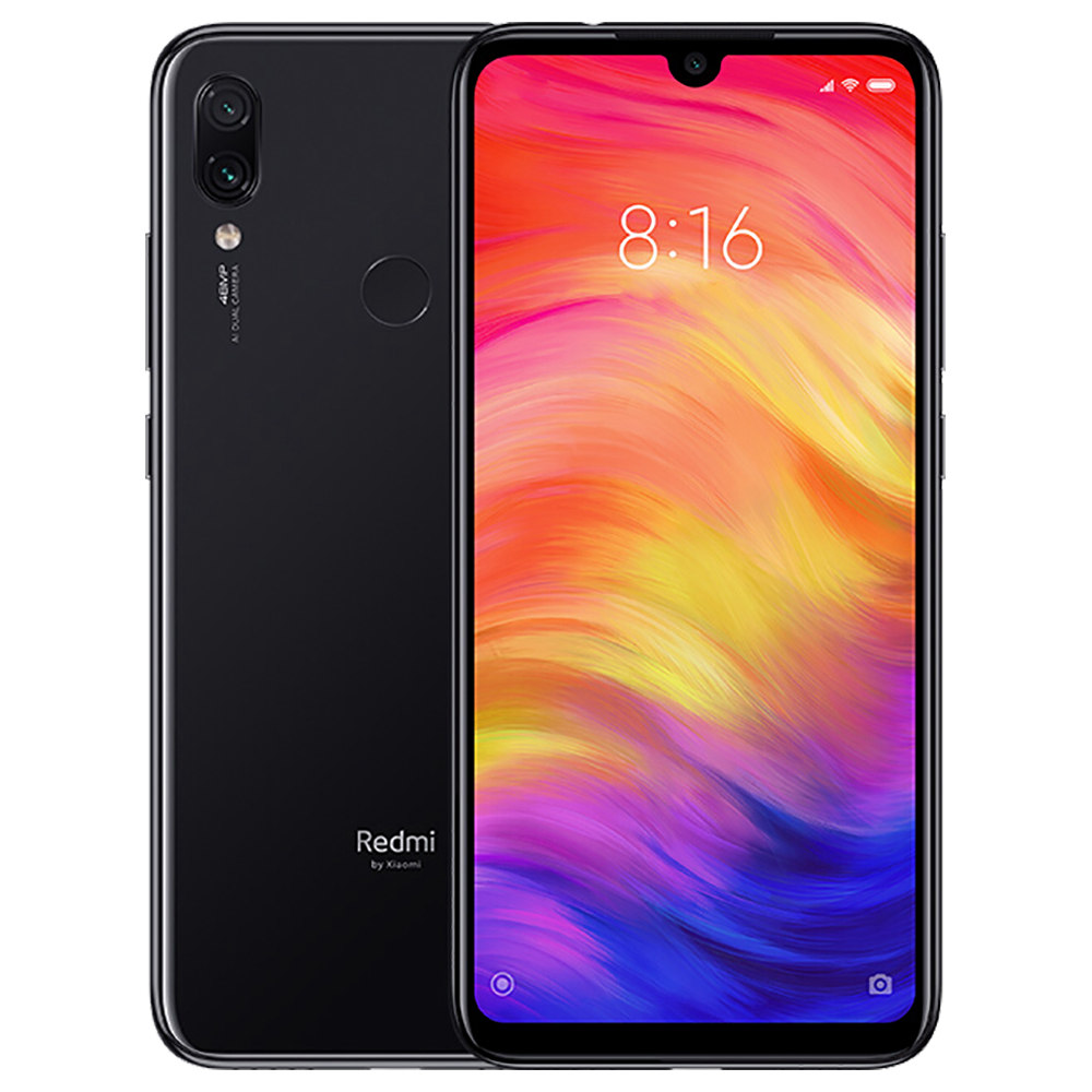 geekbuying Xiaomi Redmi Note 7 Snapdragon 660 MSM8956 Plus 2.2GHz 8コア BLACK(ブラック)