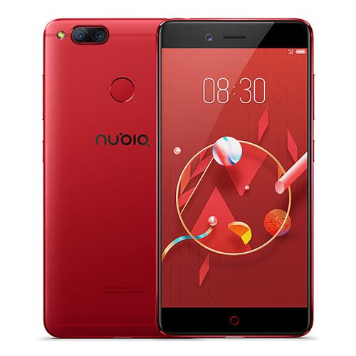 geekbuying ZTE Nubia Z17 Mini Snapdragon 652 MSM8976 1.8GHz 8コア RED(レッド)