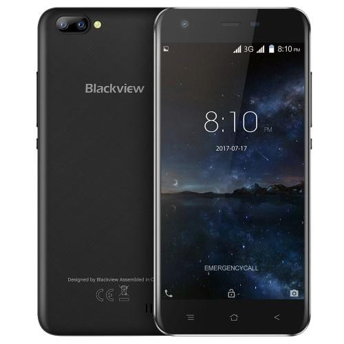 tomtop Blackview A7 3G MTK6580A 1.3GHz 4コア BLACK(ブラック)