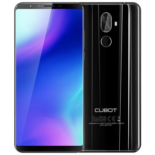 tomtop CUBOT X18 Plus MTK6750T 1.5GHz 8コア BLACK(ブラック)