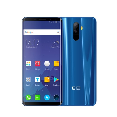 tomtop Elephone U Pro Snapdragon 660 MSM8956 Plus 2.2GHz 8コア BLUE(ブルー)