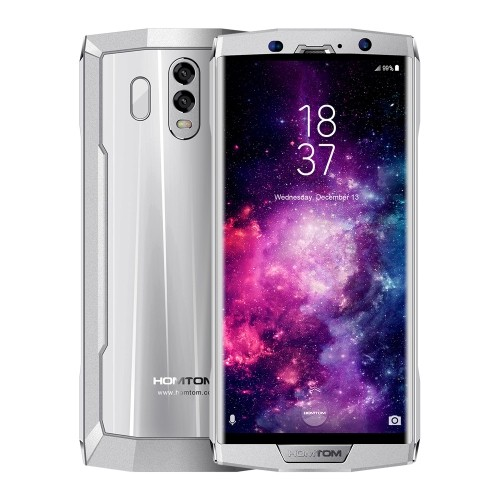 tomtop HOMTOM HT70 MTK6750T 1.5GHz 8コア SILVER(シルバー)