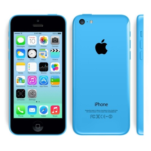 tomtop iPhone 5C 3G A6 2コア BLUE(ブルー)