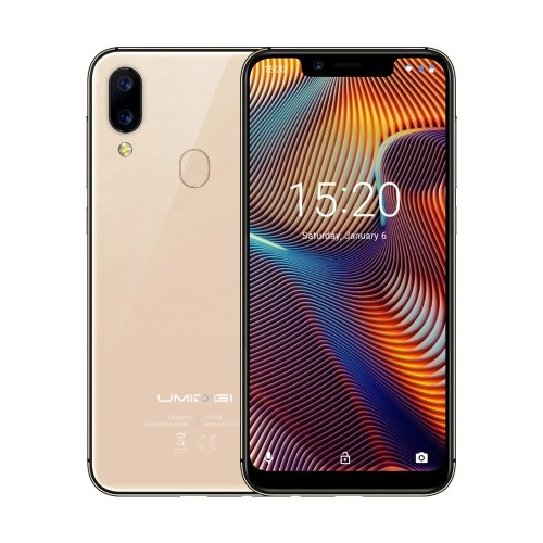 tomtop UMIDIGI A3 Pro MTK6739 1.5GHz 4コア GOLD(ゴールド)