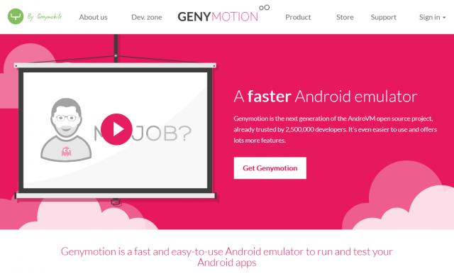 Genymotion Site