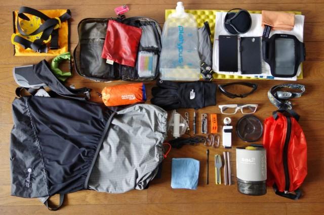 日帰り登山 装備