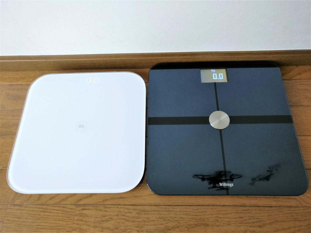 Withings Body Analyzer WS-50 & Xiaomi Mi Smart Scale レビュー