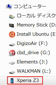 XperiaZ3マウント完了