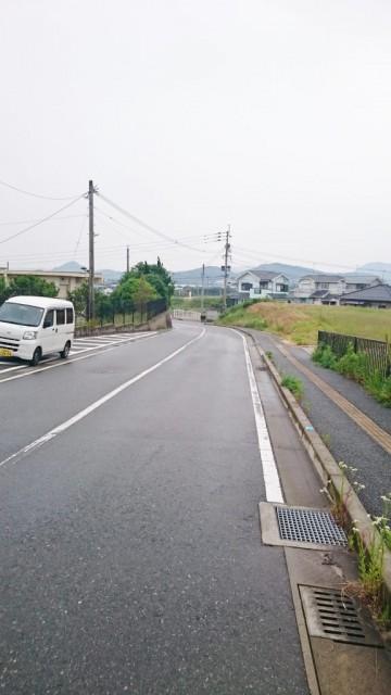 車があまり通らない車道