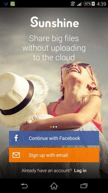 ユーザー登録、FacebookのIDでも登録できる
