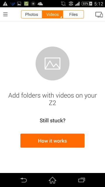 動画ファイルの画面も同様におかしくなってる。ファイルとか見れなくなった。
