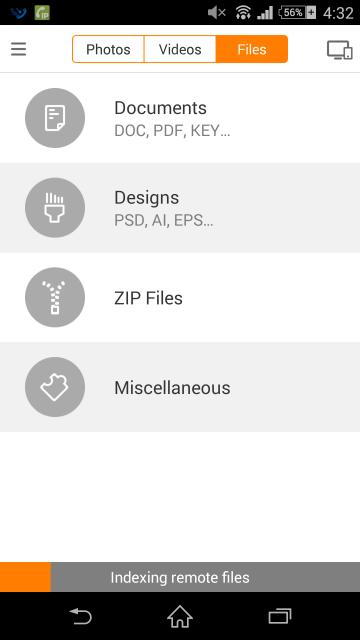 パソコンのどのファイルもシンクロされてないみたい