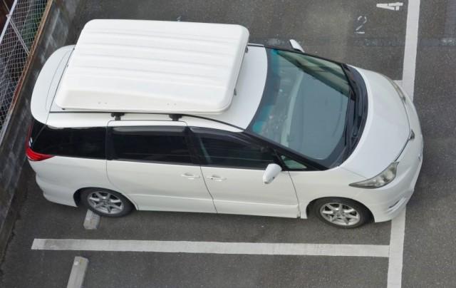 エスティマ君 洗車完了