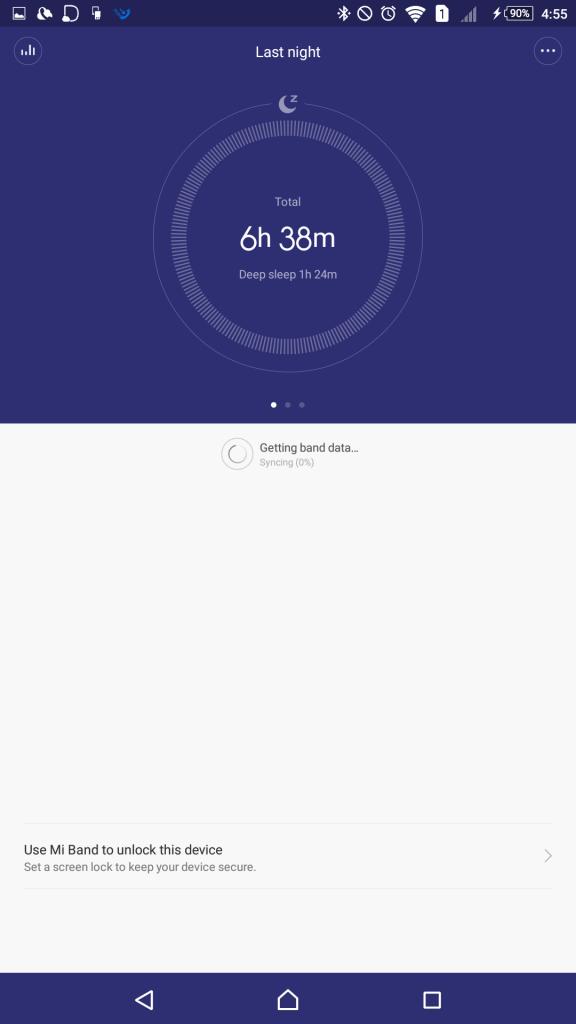 睡眠時間計測